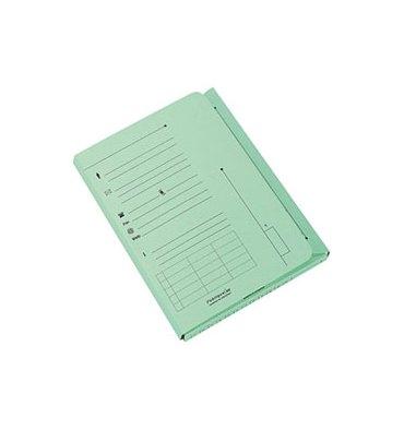 ELBA Paquet de 25 chemises 2 rabats kraft 240g coloris vert