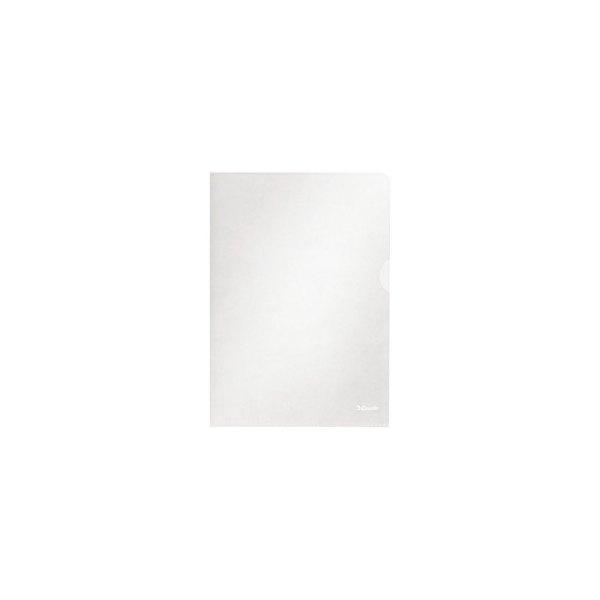 ESSELTE Boîte de 100 pochettes-coin Copy Safe en polypropylène 11/100e, coloris incolore