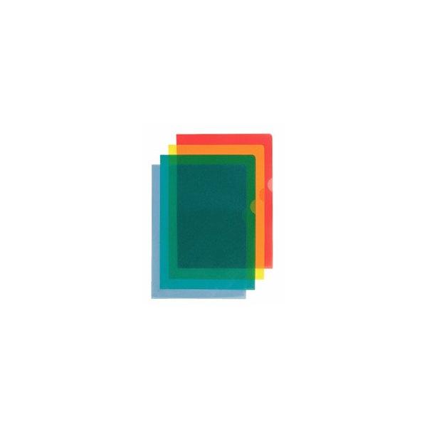 ESSELTE Boîte de 100 pochettes-coin Copy Safe en polypropylène 11/100e, coloris rouge