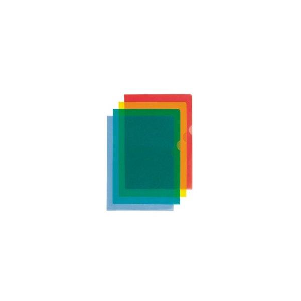 ESSELTE Boîte de 100 pochettes-coin Copy Safe en polypropylène 11/100e, coloris bleu