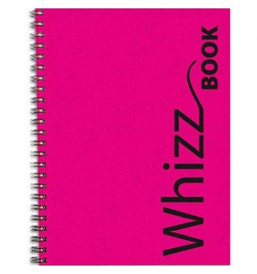 CANSON Carnet WhizzBook à dos spiralé, couverture papier assortie format A5 et 272 pages