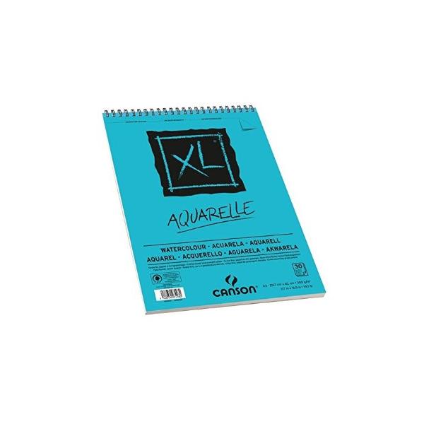CANSON Albums de 30 feuilles XL Aquarelle format A3 à spirale