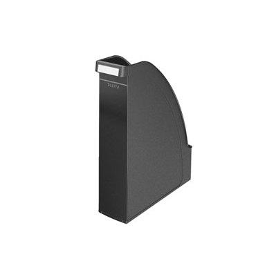 LEITZ Porte revues Leitz Plus - Noir (hxp) 30 x 27,8 cm - Dos 7,8 cm