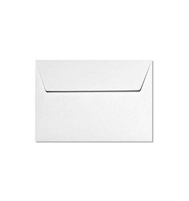 CLAIREFONTAINE Paquet de 20 enveloppes 120g POLLEN 11,4 x 16,2 cm (C6). Coloris blanc