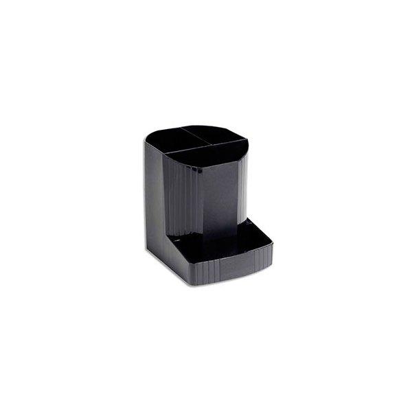 EXACOMPTA Pot à crayons ECO BLACK en polypropylène recyclé