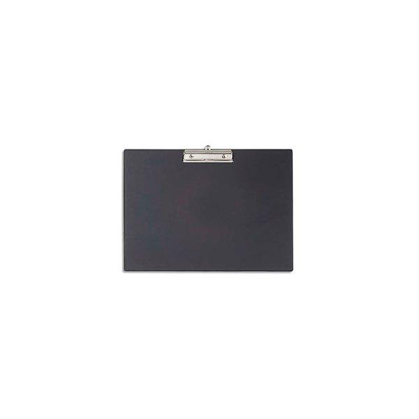 MAUL Porte-bloc en carton plastifié. Format A3 paysage. Coloris noir