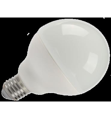 ADES Carton de 10 ampoules LED Globe dépoli E27 12 W