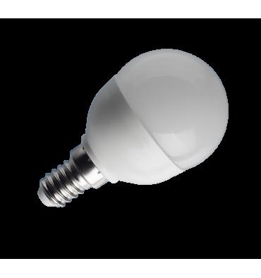 ADES Carton de 10 ampoules LED Sphérique dépolie 6W E14