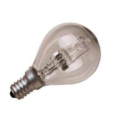 ADES Carton de 10 ampoules Halogène Sphérique 28W E14