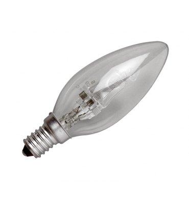 ADES Carton de 10 ampoules Halogène Flamme 42W E14