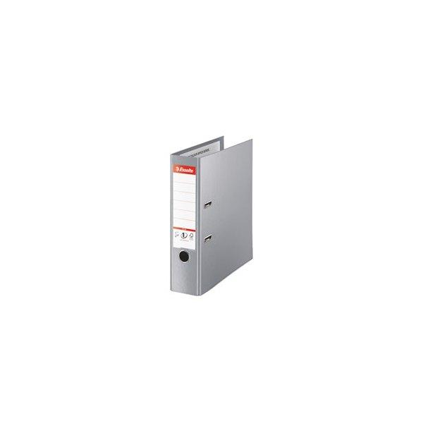 ESSELTE Classeur à levier dos de 8 cm format Maxi Plus gris