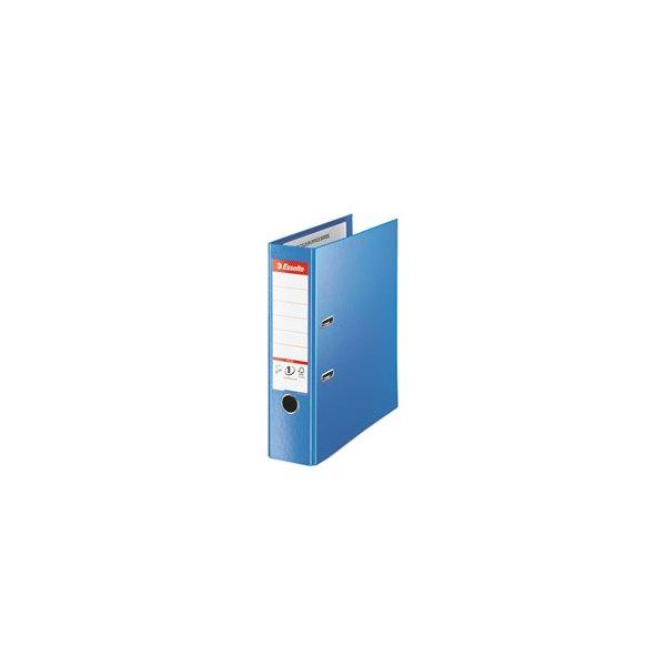 ESSELTE Classeur à levier dos de 8 cm format Maxi Plus bleu