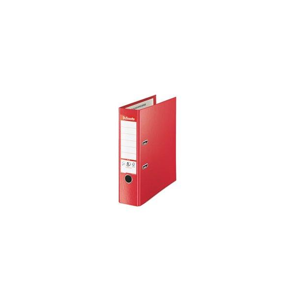 ESSELTE Classeur à levier dos de 8 cm format Maxi Plus rouge