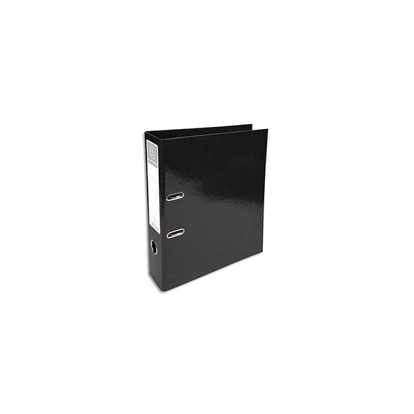 EXACOMPTA Classeur à levier IDERAMA dos 70 mm Prem'Touch coloris noir