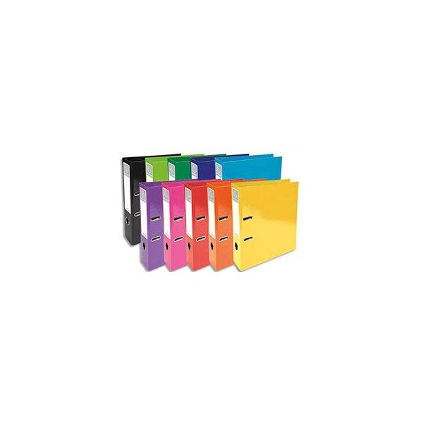 EXACOMPTA Classeurs à levier IDERAMA dos 70 mm Prem'Touch coloris assortis