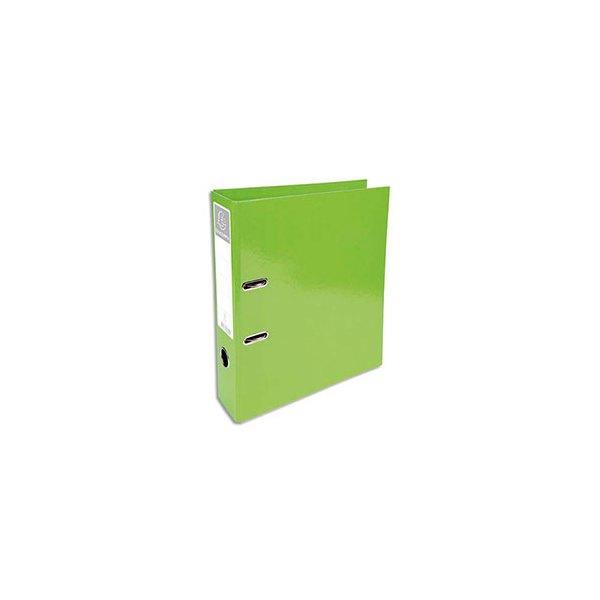 EXACOMPTA Classeur à levier IDERAMA dos 70 mm Prem'Touch coloris vert anis