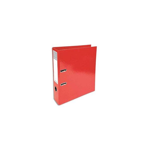 EXACOMPTA Classeur à levier IDERAMA dos 70 mm Prem'Touch coloris rouge