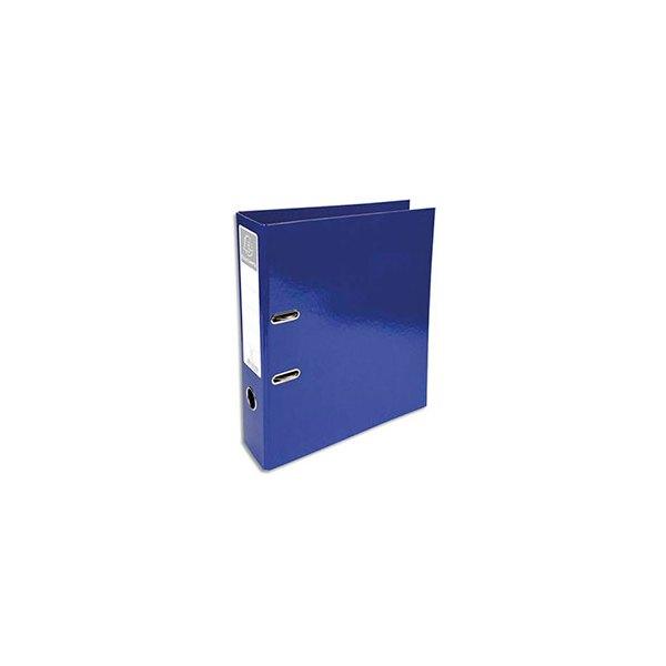 EXACOMPTA Classeur à levier IDERAMA dos 70 mm Prem'Touch coloris bleu