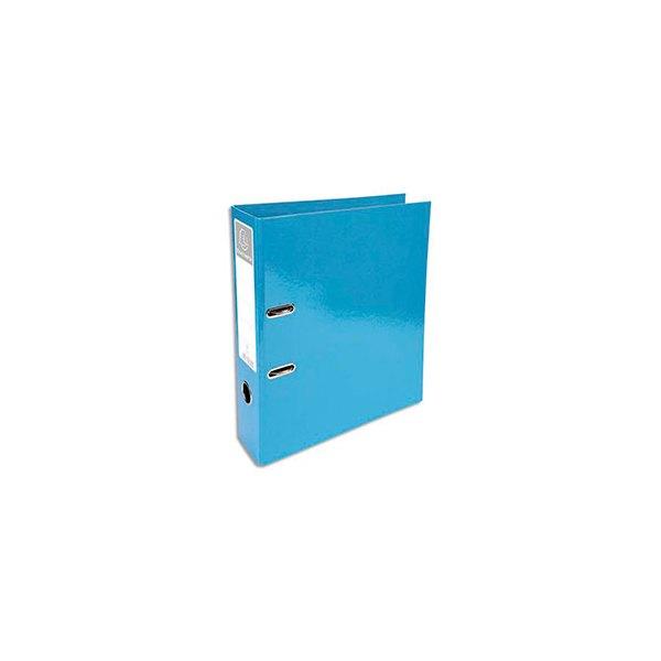 EXACOMPTA Classeur à levier IDERAMA dos 70 mm Prem'Touch coloris turquoise