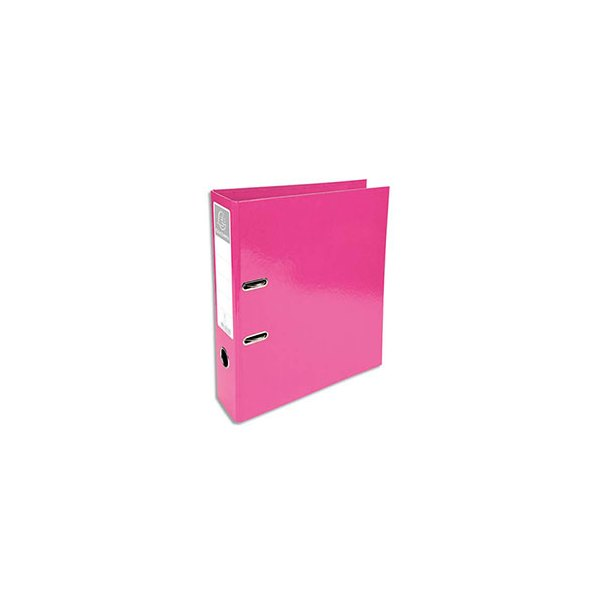 EXACOMPTA Classeur à levier IDERAMA dos 70 mm Prem'Touch coloris rose