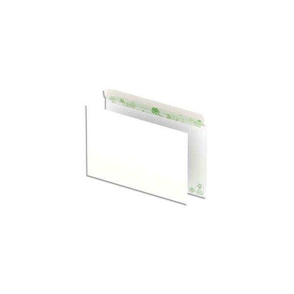 OXFORD Boîte de 500 enveloppes recyclées extra blanches 90g C5 162 x 229 mm