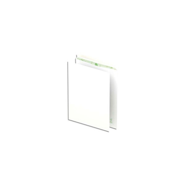 OXFORD Boîte de 250 pochettes recyclées extra blanches 90g format C4 229 x 324 mm