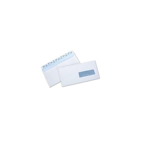 NEUTRE Boîte de 500 enveloppes auto-adhésives 80g DL 110 x 220 mm fenêtre 35 x 100 mm