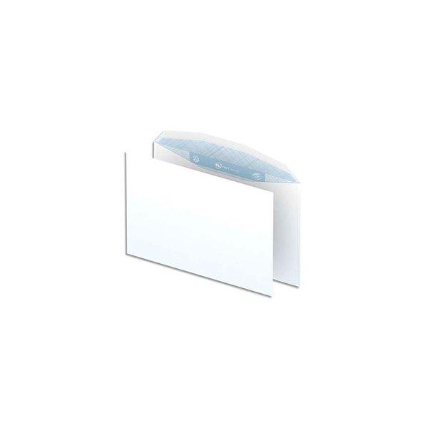 NEUTRE Boîte de 500 enveloppes blanches gommées 80g mise sous pli automatique C5 162 x 229 mm