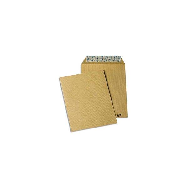 GPV Paquet de 50 pochettes kraft auto-adhésives 85g format 162 x 229 mm C5