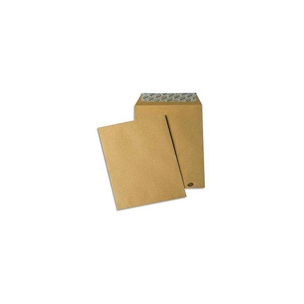 GPV Paquet de 10 pochettes kraft auto-adhésives 90g format 176 x 250 mm B5