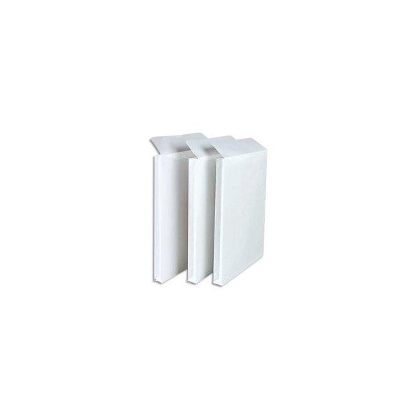 GPV Boîte de 250 pochettes à soufflets 3 cm en vélin blanc 120g format 24 - 260 x 330 mm