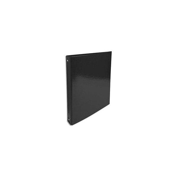 EXACOMPTA Classeur A4 4 anneaux de 30 mm Iderama dos 4 cm coloris noir