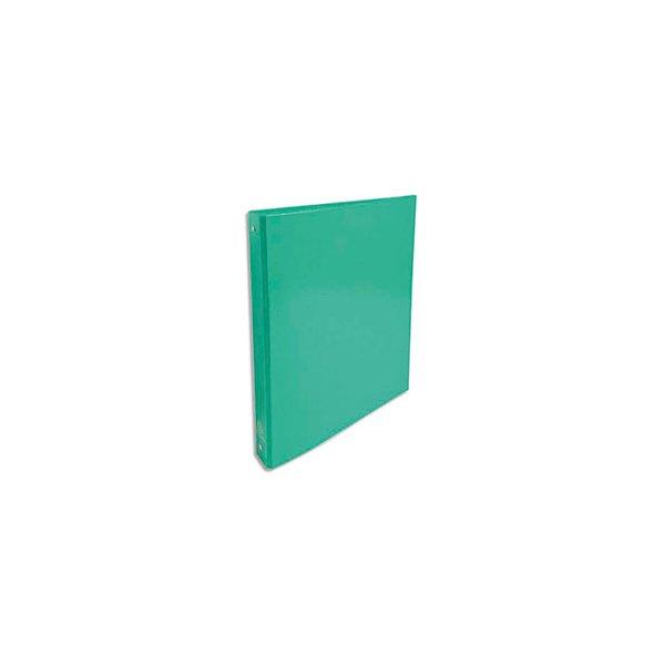 EXACOMPTA Classeur A4 4 anneaux de 30 mm Iderama dos 4 cm coloris vert foncé