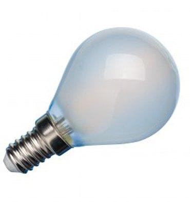 ADES Carton de 10 ampoules LED Sphérique COG dépolie 4W