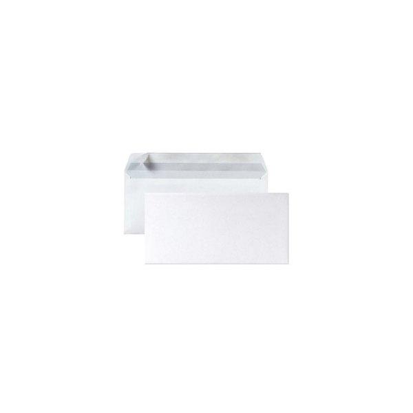 5 ETOILES Boîte de 500 enveloppes DL 110 x 220 mm blanc 75 g auto-adhésive