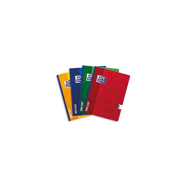 OXFORD Cahier OPEN FLEX brochure 192 pages 17 x 22 cm Seyès assortis