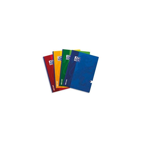 OXFORD Cahier OPEN FLEX brochure 192 pages 24 x 32 cm Seyès assortis