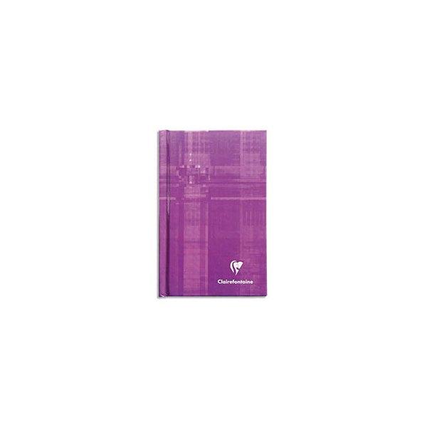CLAIREFONTAINE Carnet brochure 128 pages 7,5 x 12 cm 5x5. Couverture carte assortie