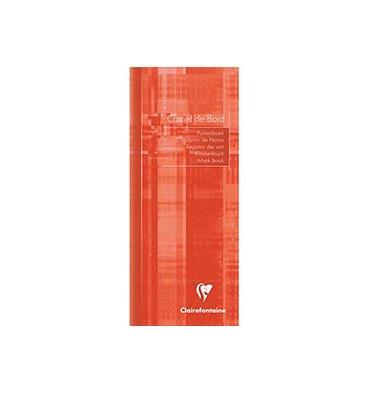 CLAIREFONTAINE Carnet de bord 8,5 x 20 cm 32 pages (feuillets détachables et pré-imprimé). Couverture pelliculée