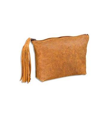 ELBA Fourre-tout plat 17 x 14 x 1 cm - cuir vintage