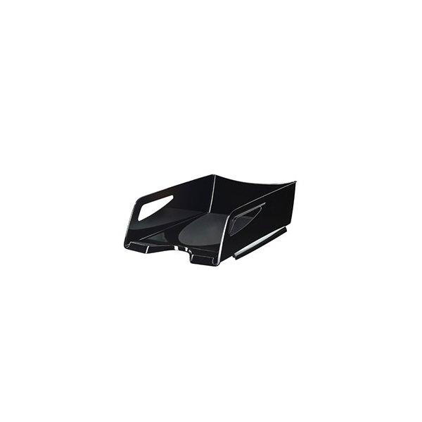 CEP PRO BY CEP Maxi corbeille à courrier Happy 220 - 25 x 10,1 x 34 cm - coloris noir