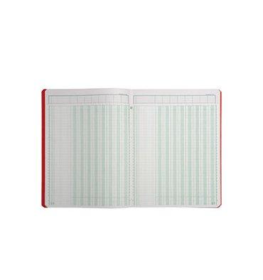 LE DAUPHIN Piqûre trace comptable folioté 24,5 x 31,5 cm 80 pages 8 colonnes