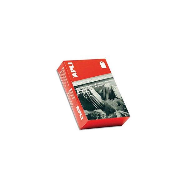 AGIPA Boîte de 1000 étiquettes Bijouterie, format 18 x 29 mm blanc (photo)