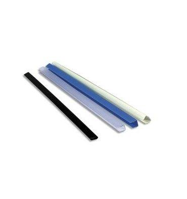 EXACOMPTA Boîte de 25 baguettes à relier manuelles Serodo 9 mm incolore