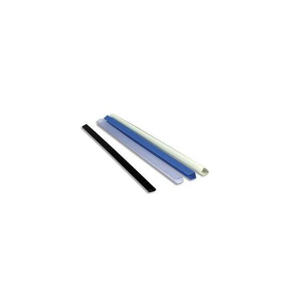 EXACOMPTA Boîte de 25 baguettes à relier Serodo 12 mm incolore
