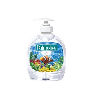 PALMOLIVE Flacon pompe 300 ml Savon liquide motif Aquarium PH Neutre