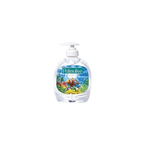 PALMOLIVE Flacon pompe 300 ml Savon liquide motif Aquarium PH Neutre