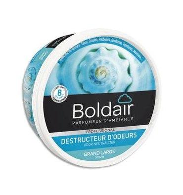 BOLDAIR Gel solide de 300 gr, destructeurs d'odeurs parfum marine