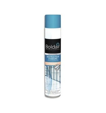 BOLDAIR Destructeur d'odeur Aérosol Air Léger 750 ml (net 500 ml)