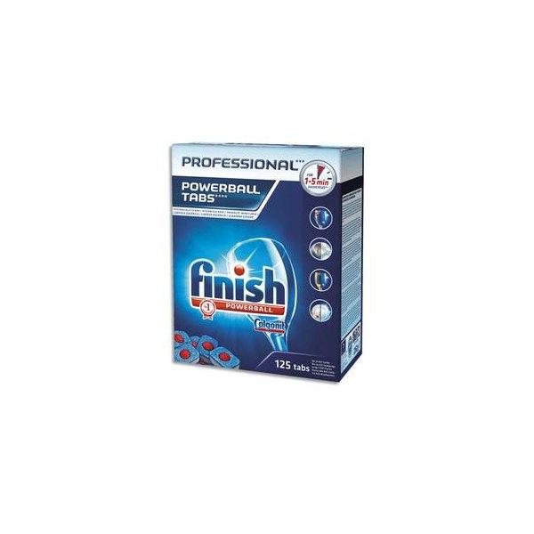 FINISH Boîte de 125 pastilles de lavage pour lave-vaisselle